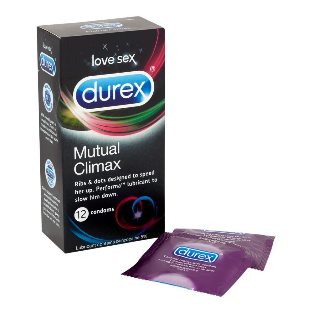 Køb Durex Mutual Climax – Bedøvende Kondomer 10 stk.