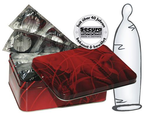Image of   Secura Transparente Kondomer -50 stk.