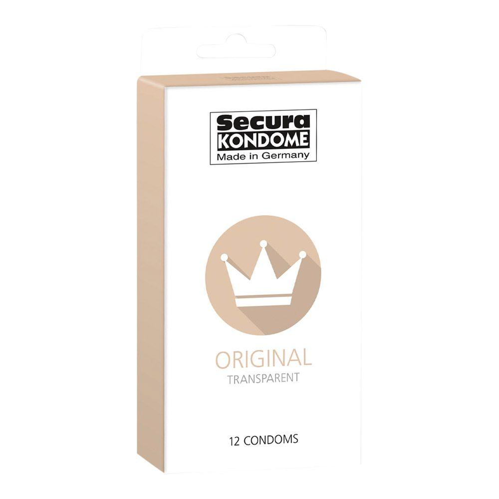 Image of   Secura Original Kondomer - Stærke og tynde-12 stk.