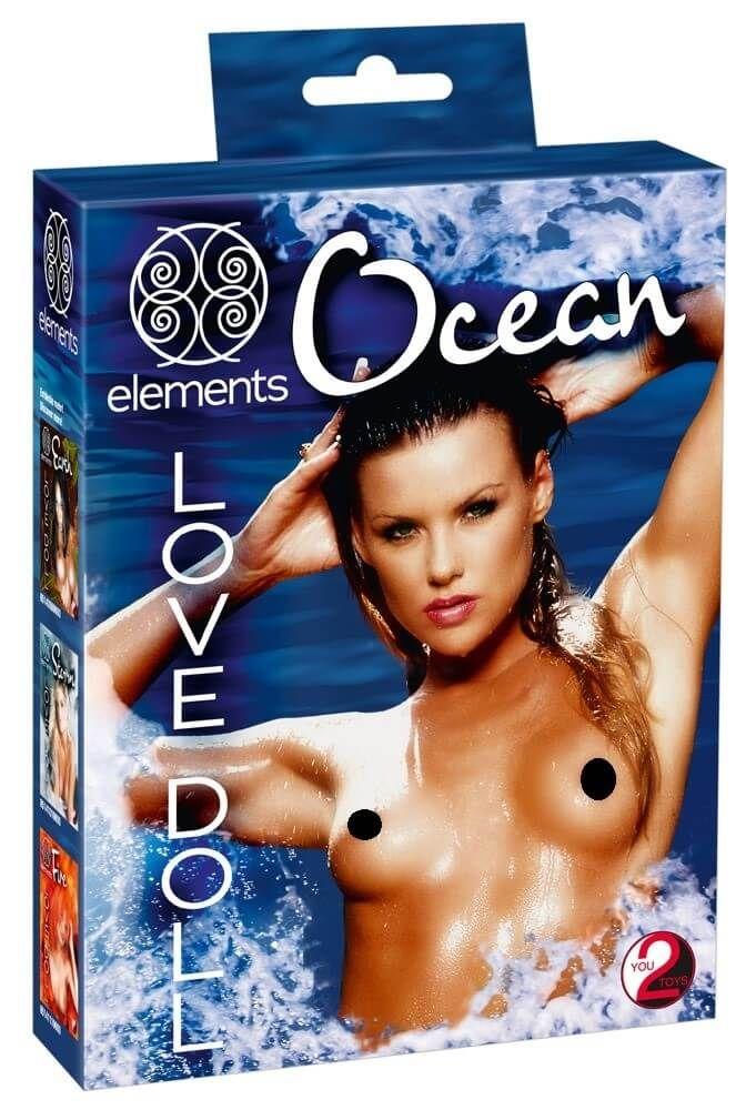 Image of   You2Toys Ocean Oppustelig Elskovsdukke