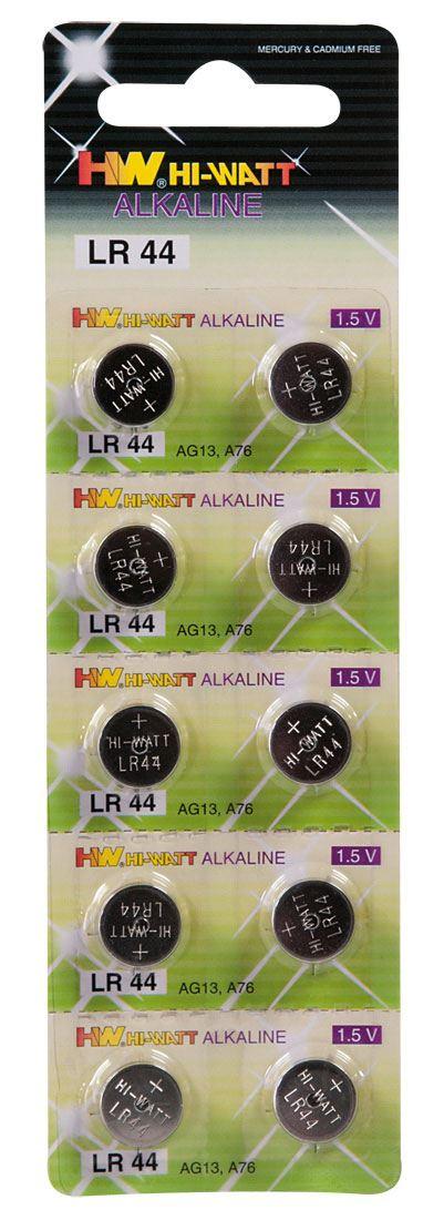 Image of   10 stk. knapcellebatterier