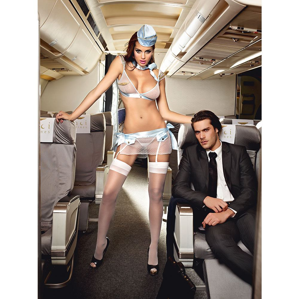 Image of   Baci - Airlines First Class Stewardesse -XL/XXL