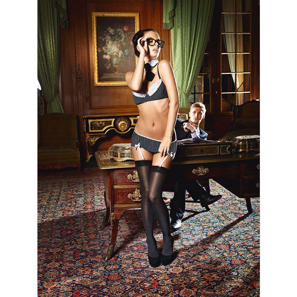 Image of   Baci - Sexet Sekretær kostume-3XL/4XL