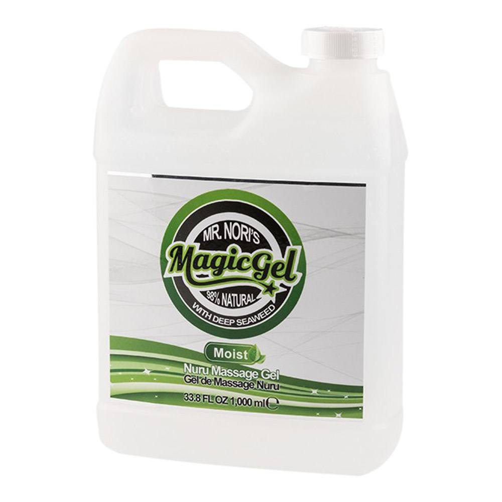Image of   MR. NORI'S MAGIC GEL MOIST NURU MASSAGE GEL-1000 ml.