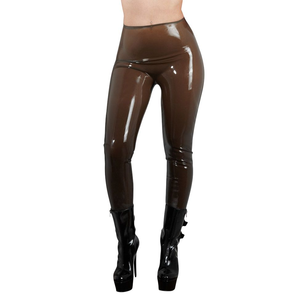 Billede af 210th, Latex tights smoke-M