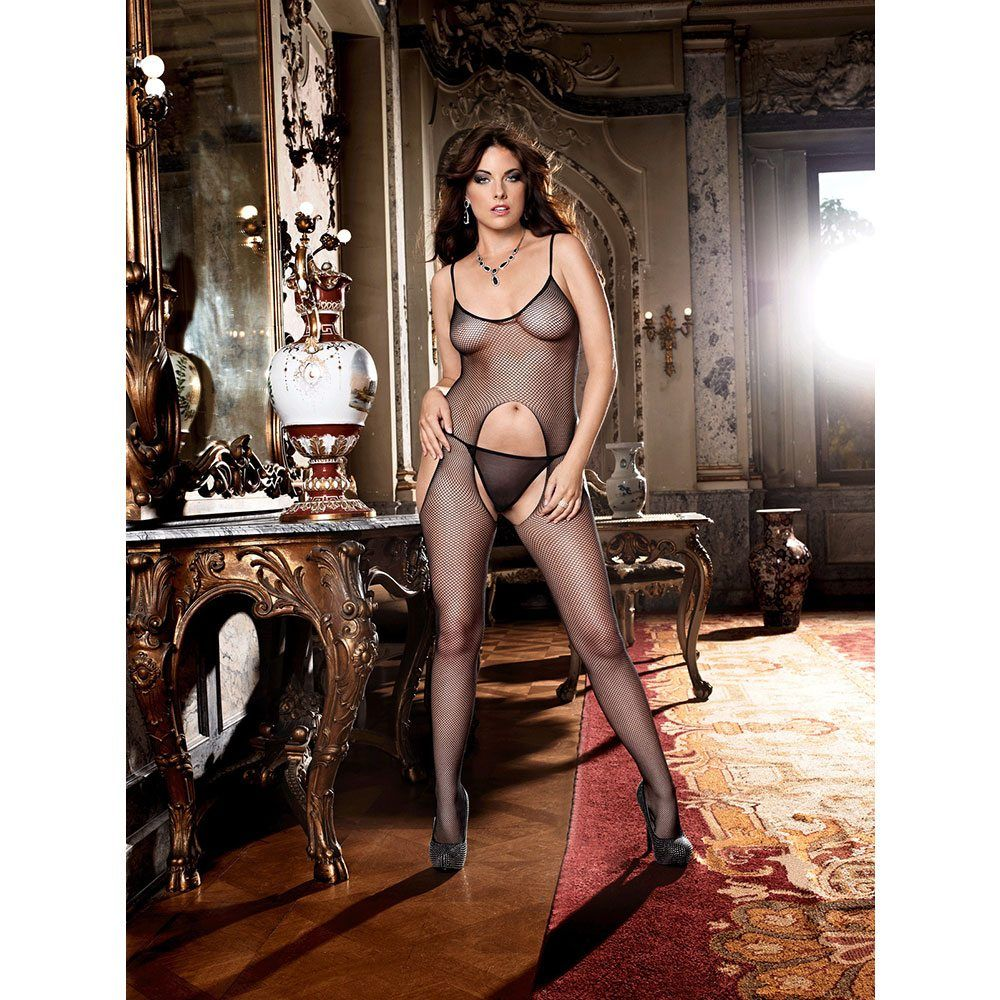 Image of   Baci - Net bodystocking (Plus Size)
