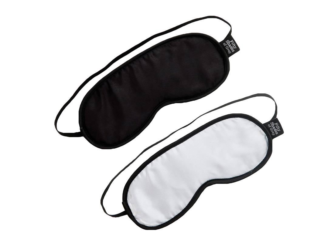 Image of   Fifty Shades of Grey Blindfold sæt