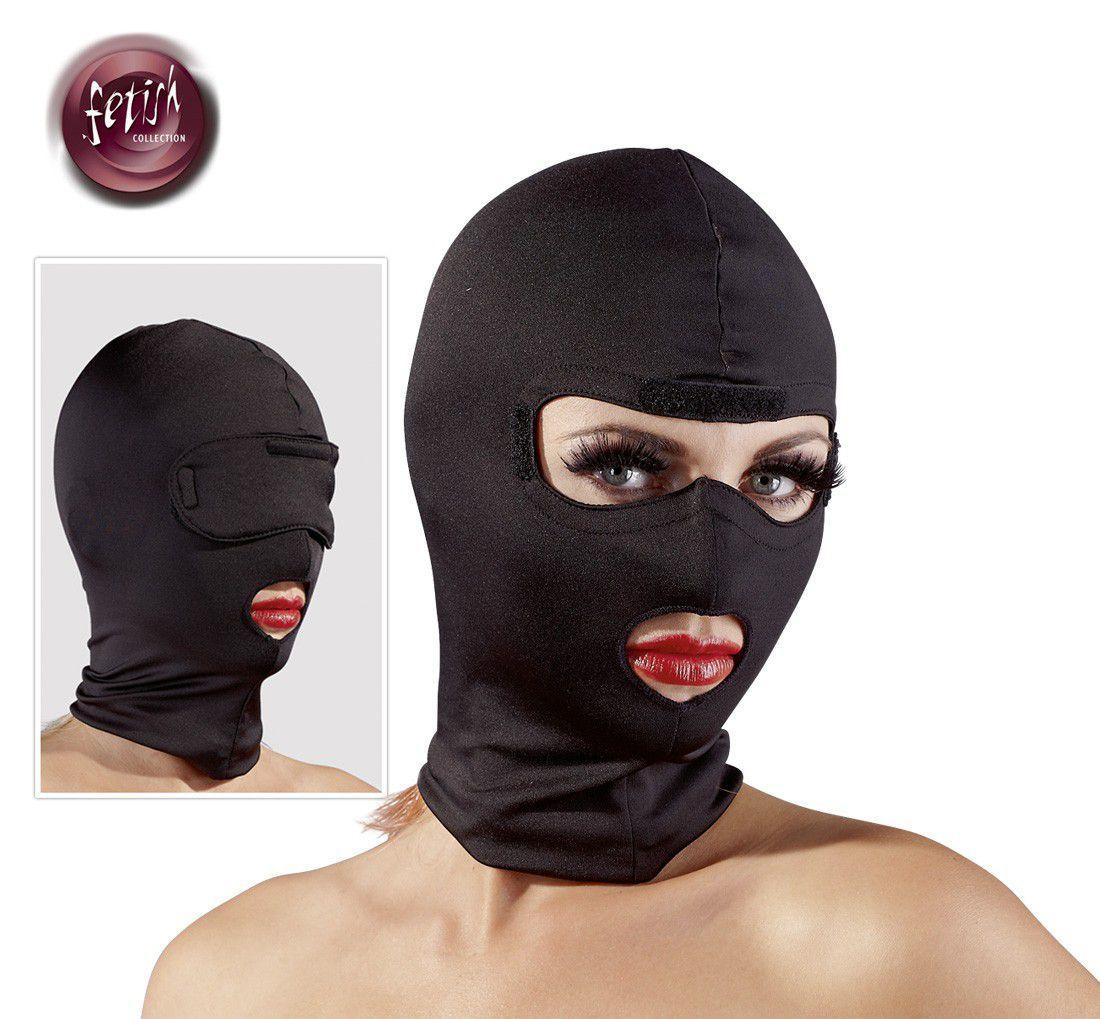 Fetish Collection  -  Hovedmaske Med Blindfold
