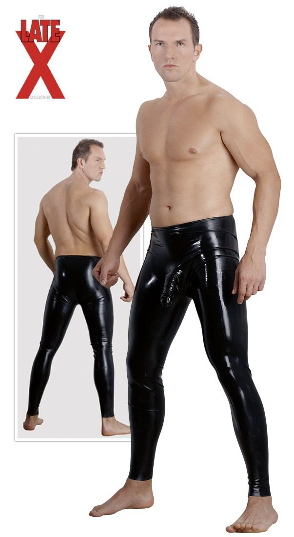 Latex Pants Sleeve XXL