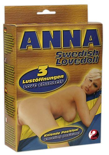 "Image of   ""Anna"" Swedish Love Doll"