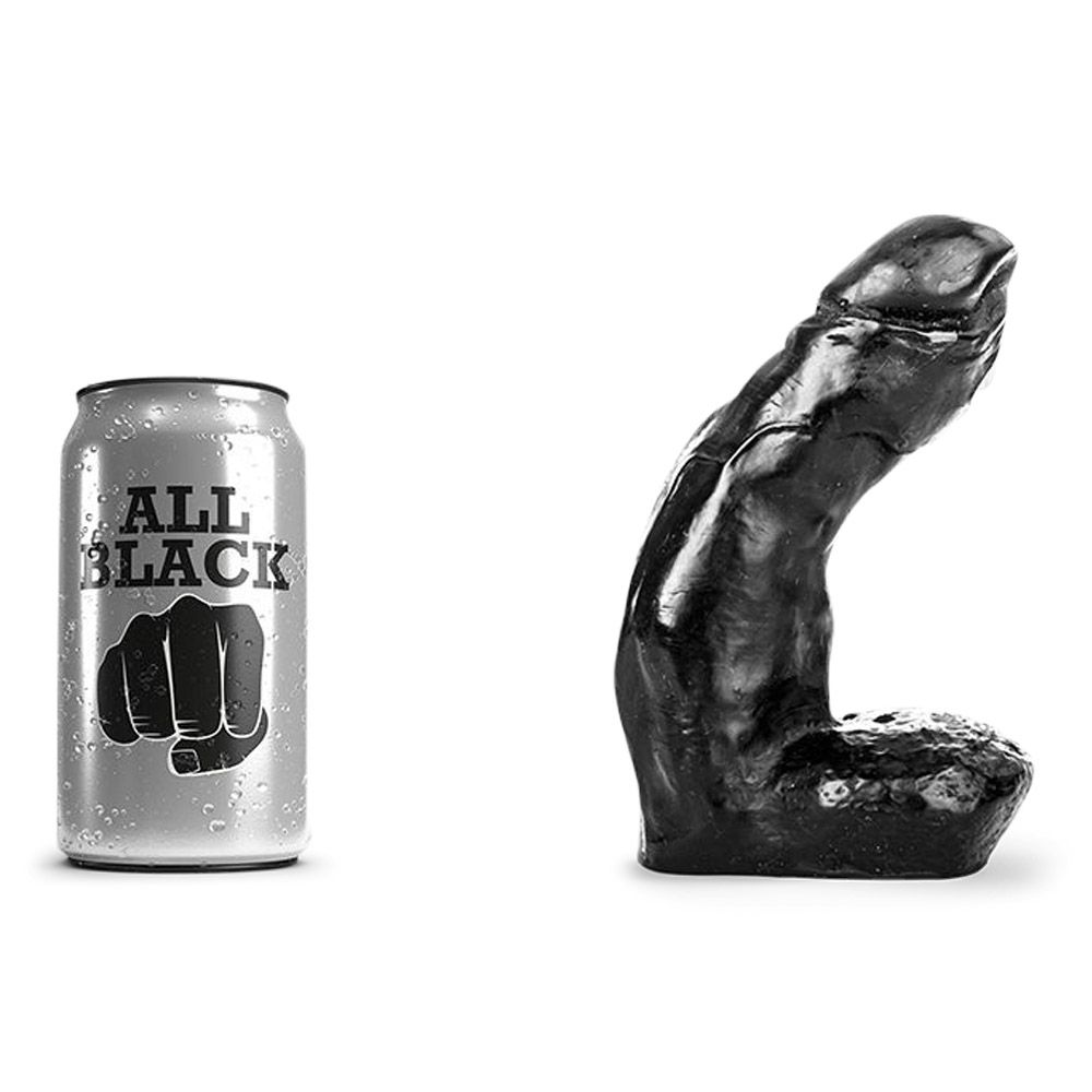 Image of   All Black 1 - anal dildo