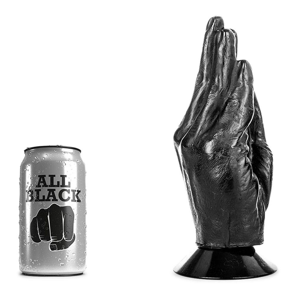 Image of   All Black 13 - hånden fisting dildo