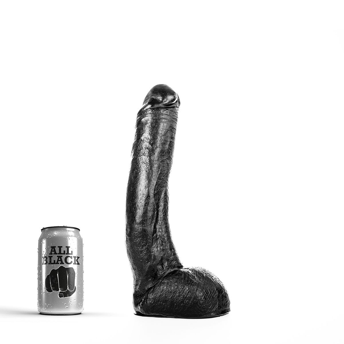 All Black 15 – Stor Dildo