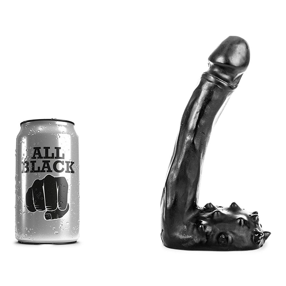 Image of   All Black 26 - anal dildo