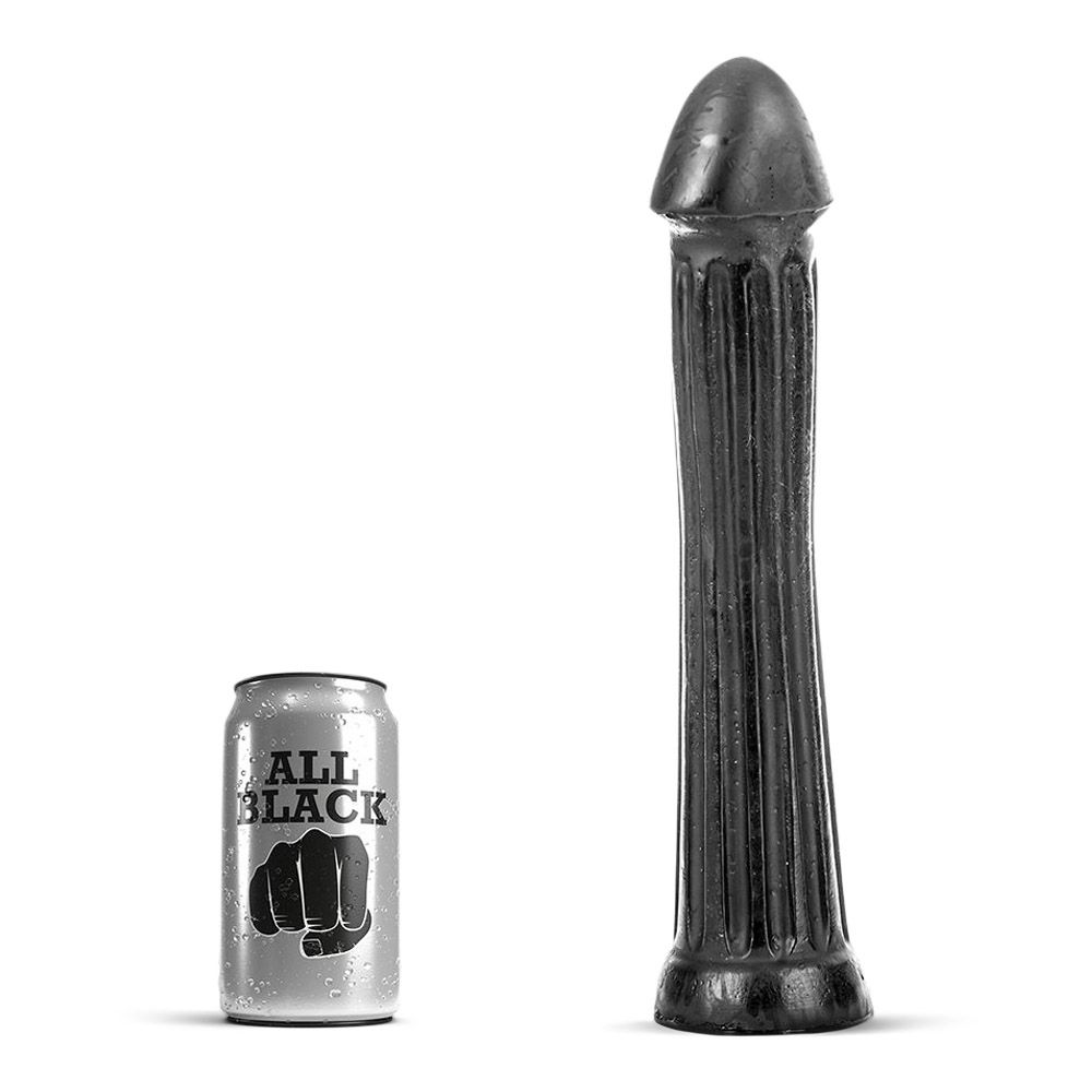 Image of   All black - 30 lang dildo