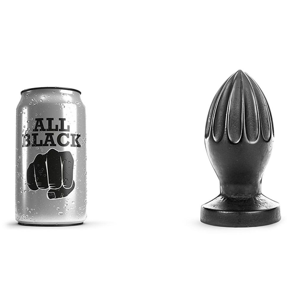 Image of All Black 31 - stor butt plug