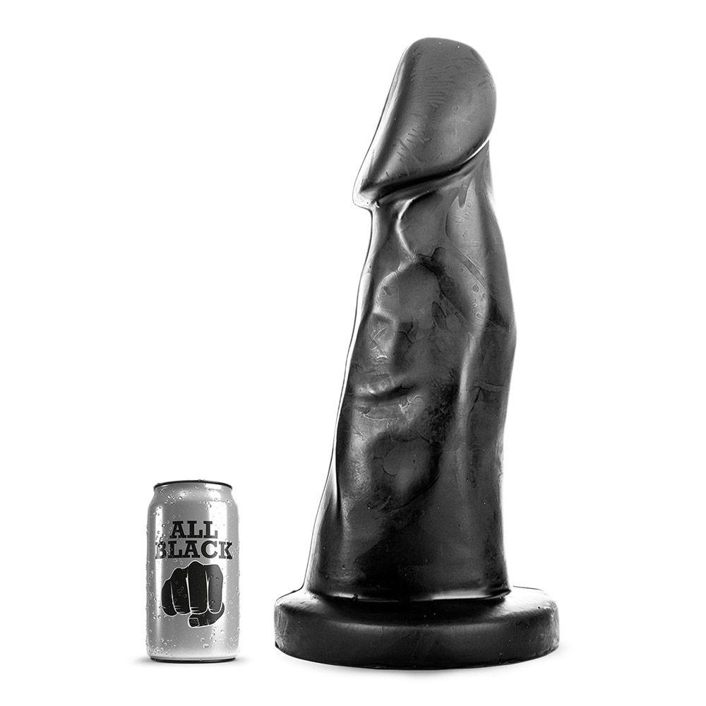 Image of   All Black 38 - Kraftig Butt-Plug