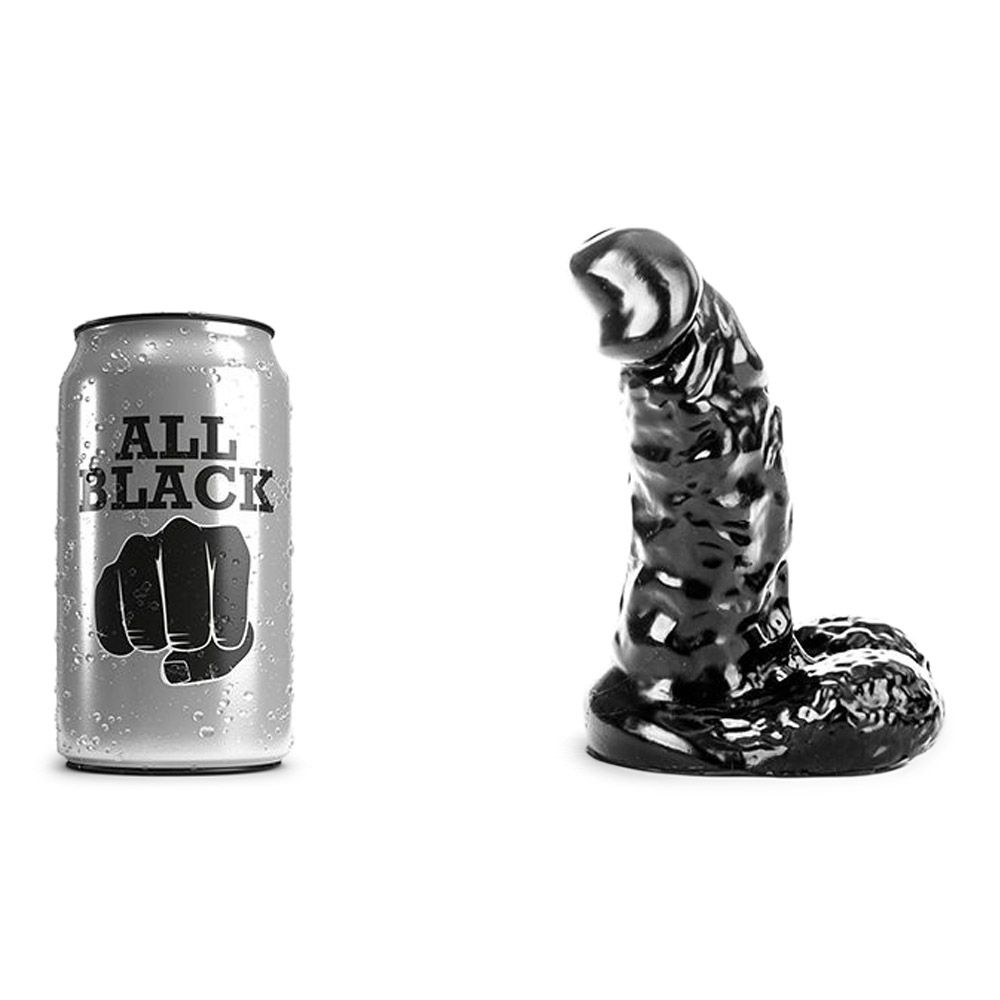 Image of   All Black - 42 realitisk anal dildo