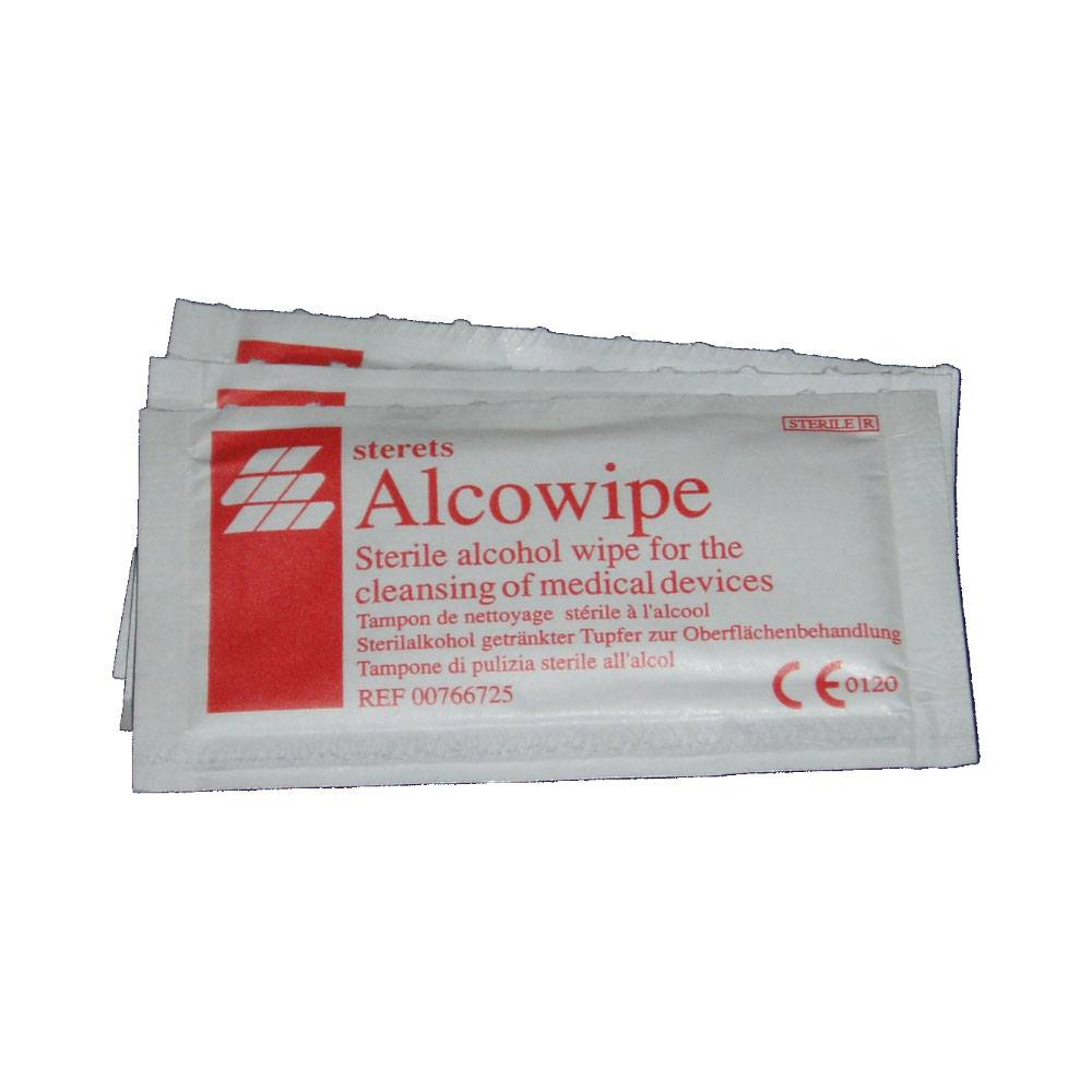 Image of Alcowipe Steril Wipes