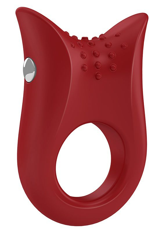 Image of   OVO B2 VIBRATING RING RED