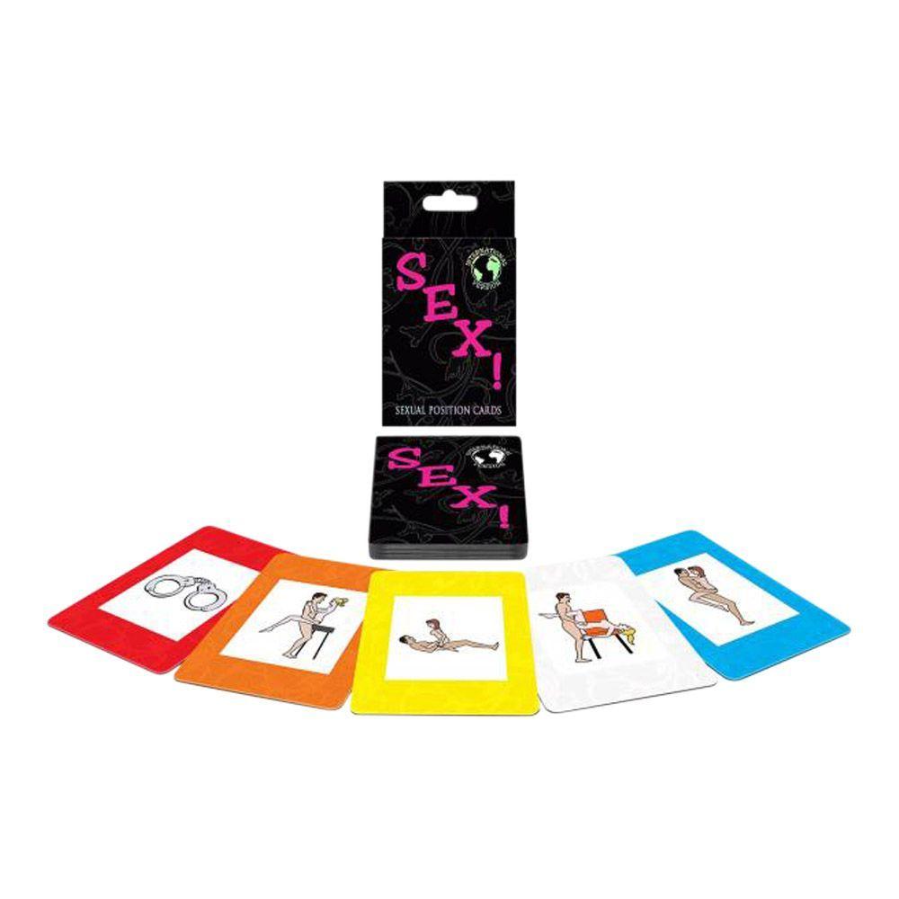 Image of   Khepergames - Internationalt sexkortspil med 100.000 muligheder