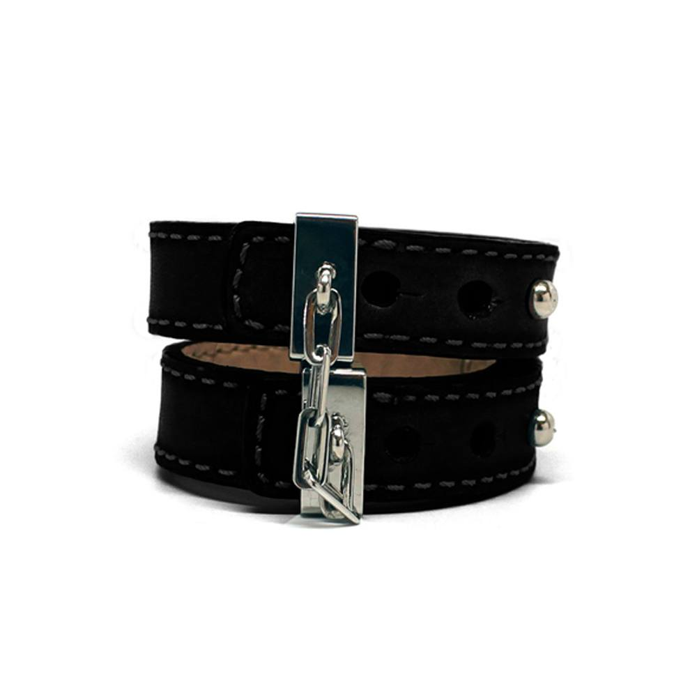 Image of   Crave Leather Cuff Bracelet