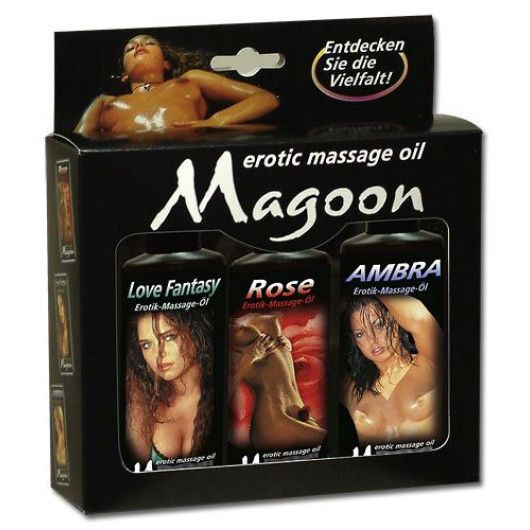 Magoon Love Fantasy – Massageolie-Sæt