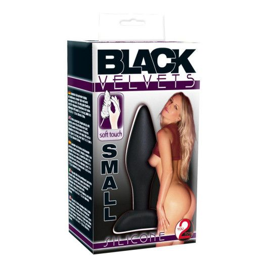 You2Toys Black Velvet Lille – Buttplug