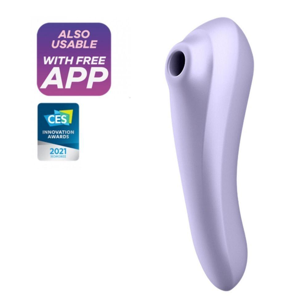 Køb Satisfyer Dual Pleasure  –  Klitoris Stimulator og G-Punkts Vibrator