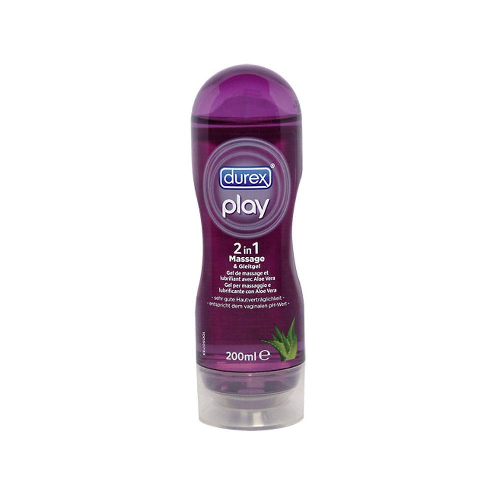 Billede af Durex Play 2-I-1 massageolie & glidecreme 200 ml