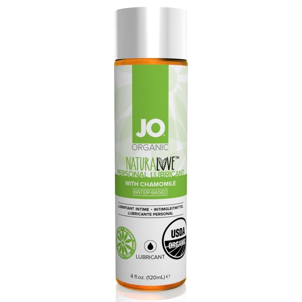 System Jo Certified Organic Lubricant Økologisk Glidecreme