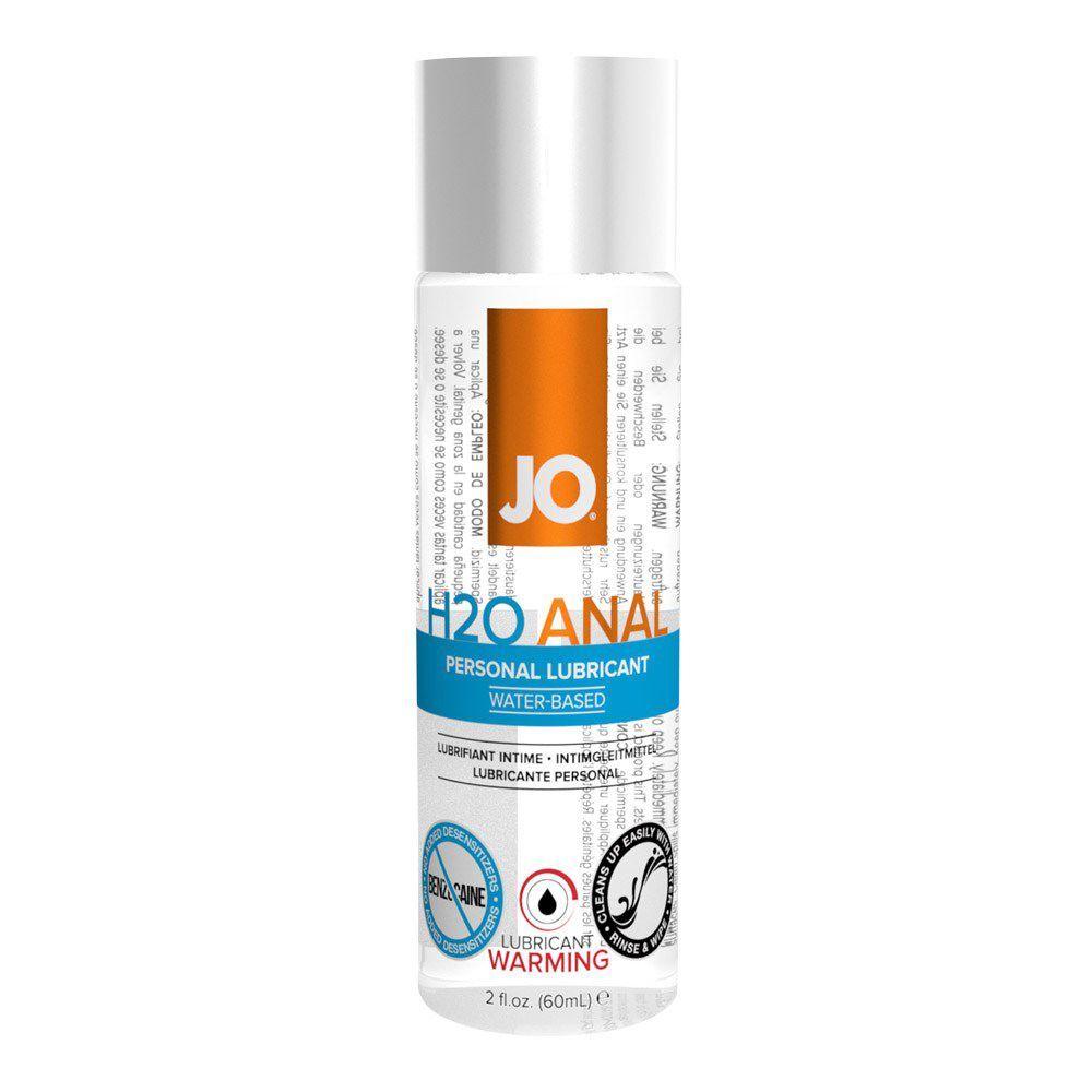Image of   SYSTEM JO ANAL H2O WARMING VANDBASERET GLIDECREME - 120 ml