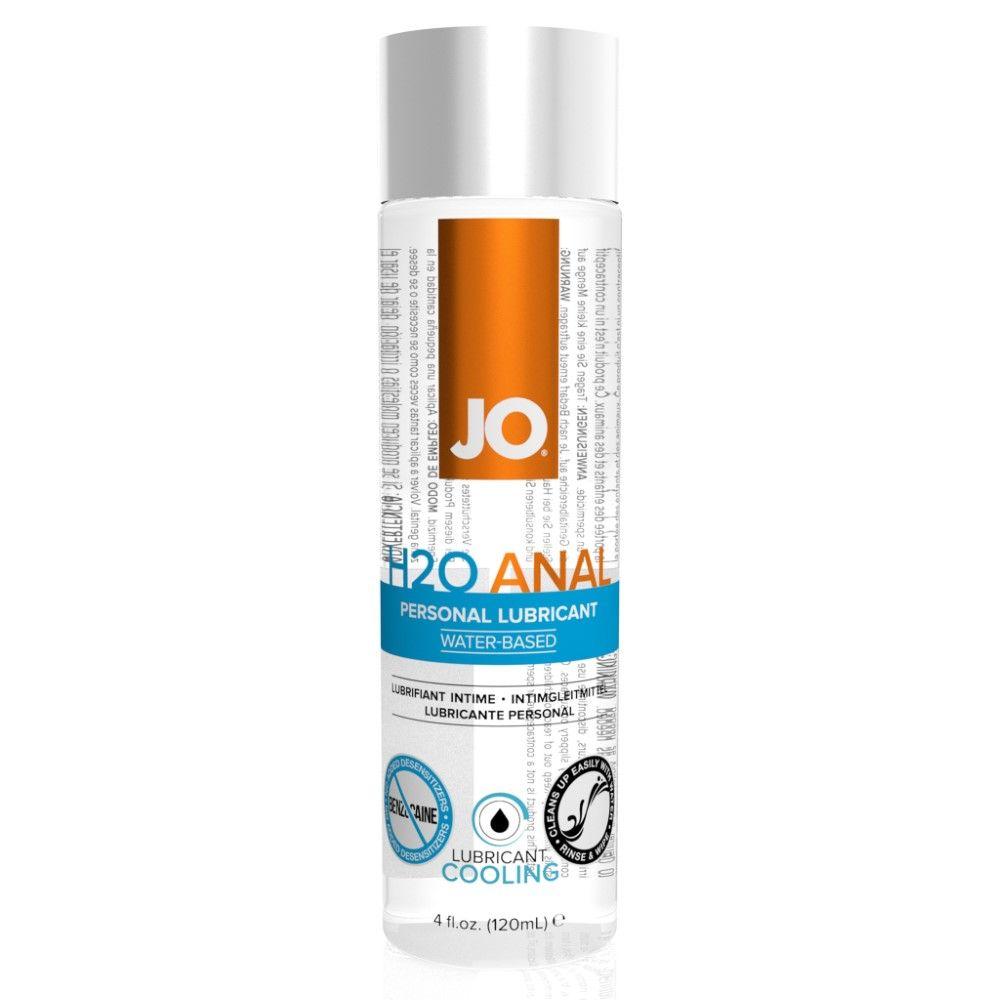 Image of   SYSTEM JO ANAL H2O COOL VANDBASERET GLIDECREME - 120 ml