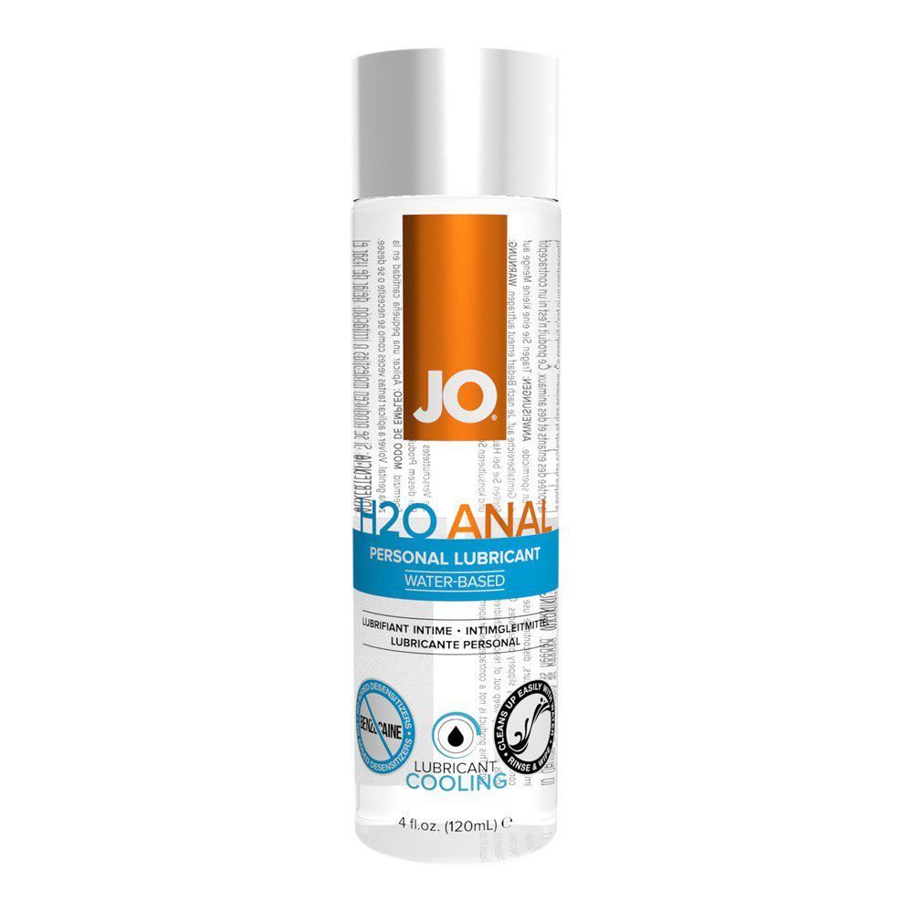 Image of   SYSTEM JO ANAL H2O COOL VANDBASERET GLIDECREME - 60 ml