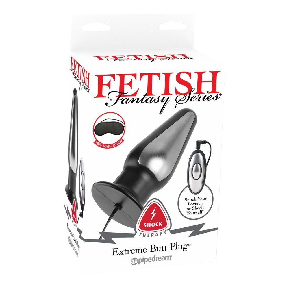 Fetish Fantasy Series Shock Therapy Extreme Butt Plug  -  Elektro-Sex Buttplug