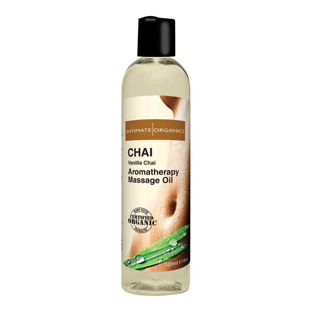 Image of   Intimate Organics Aromatherapy - Massageolie Med Duft - chai - 120 ml