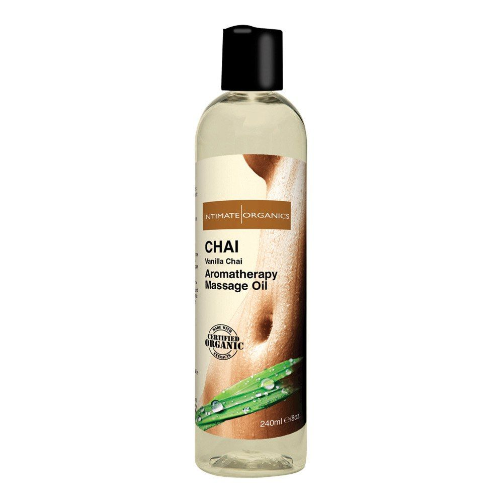 Intimate Organics Aromatherapy  -  Massageolie Med Duft - chai - 240 ml