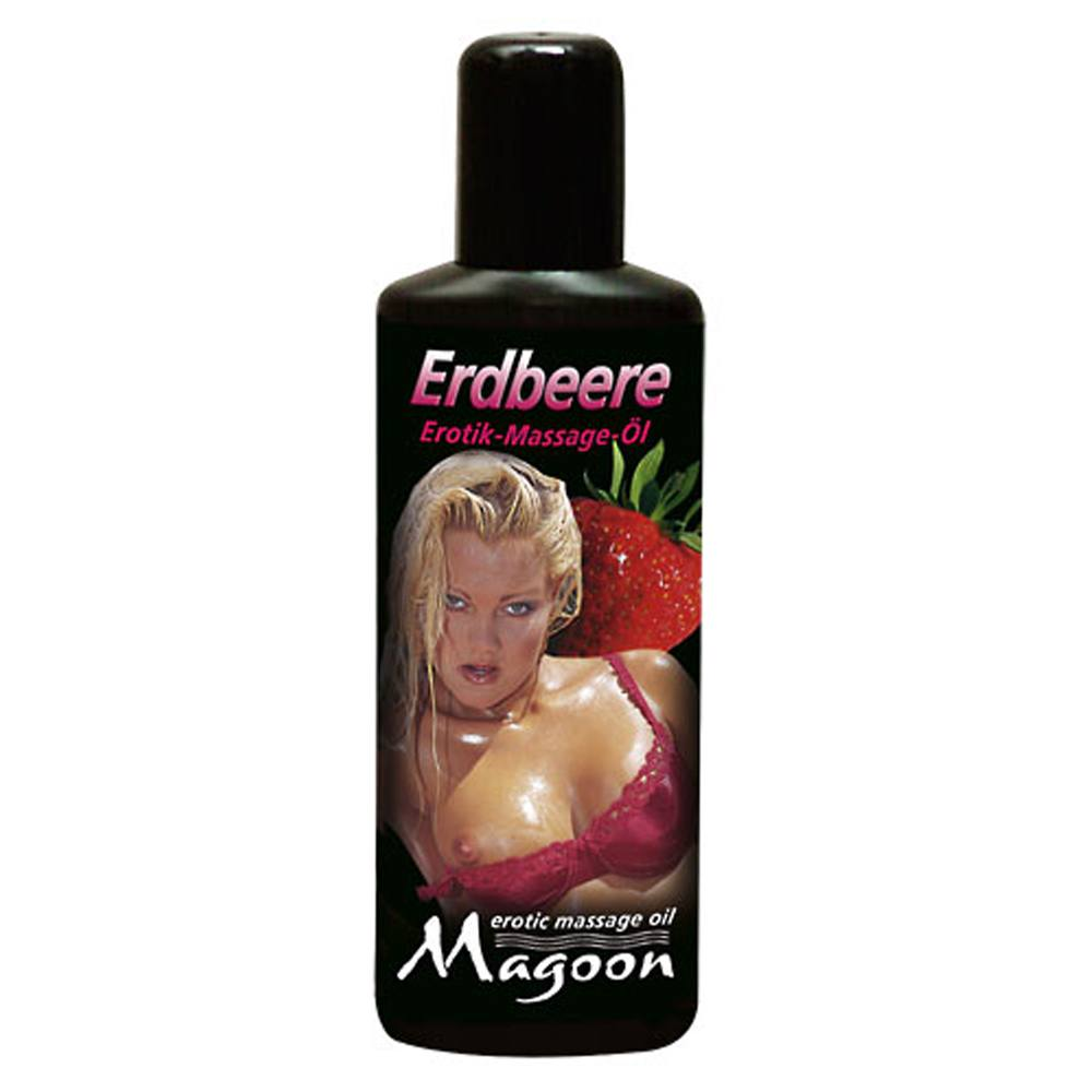 Image of   Magoon Erotik Massageolie - Strawberries
