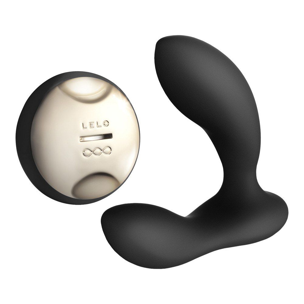 Image of   Lelo Hugo - Prostata-Vibrator - sort