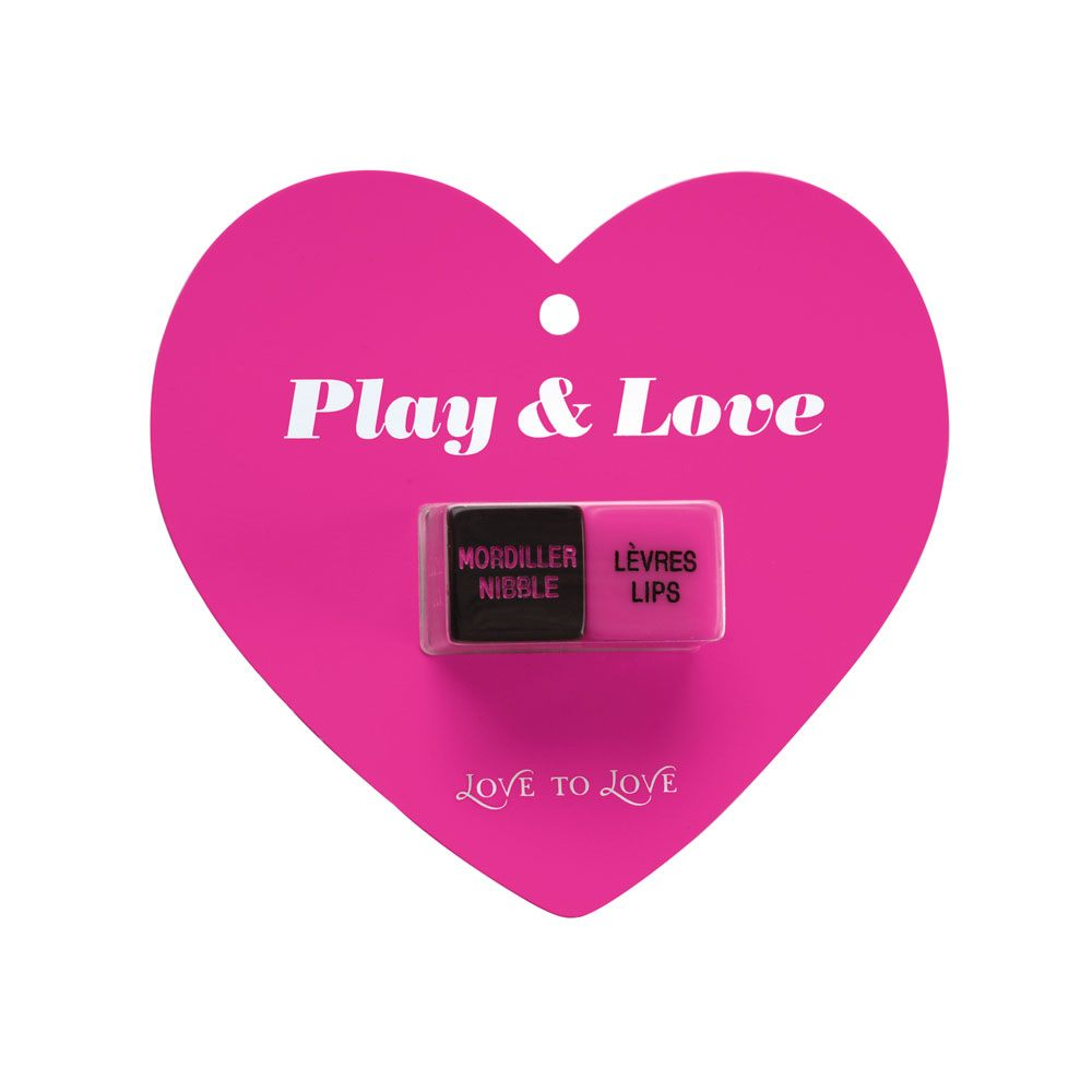 Image of   love to love play & love dices