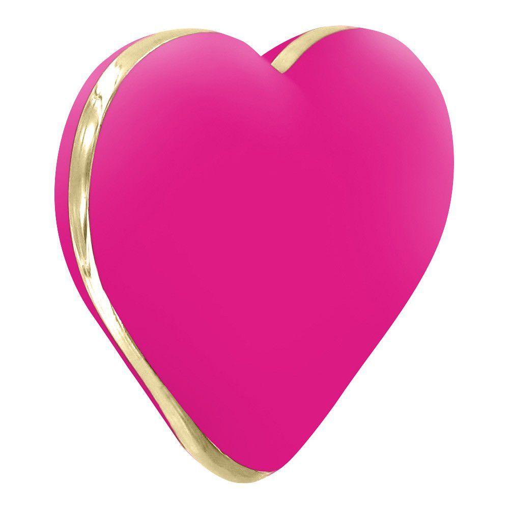 Rianne S Heart Vibe - Klitoris-Vibrator - lyserød