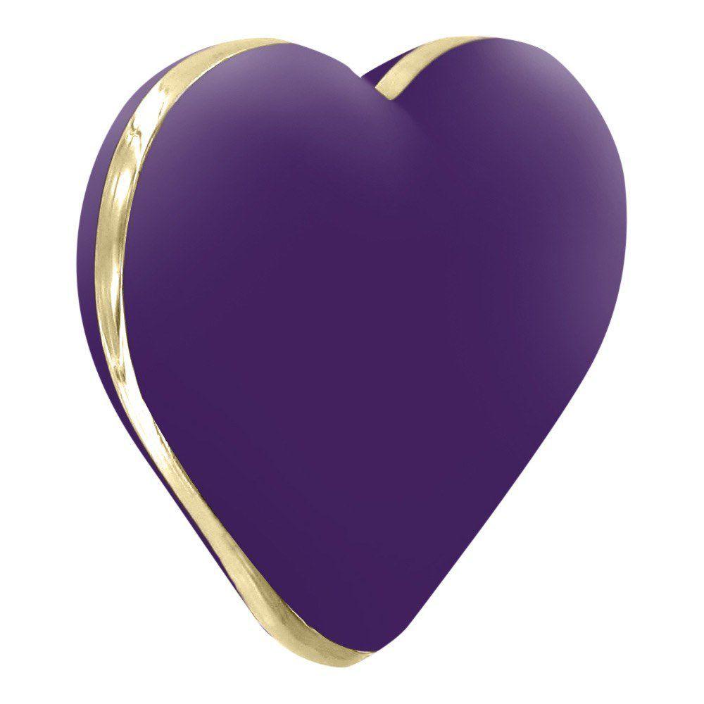 Rianne S Heart Vibe - Klitoris-Vibrator - lilla