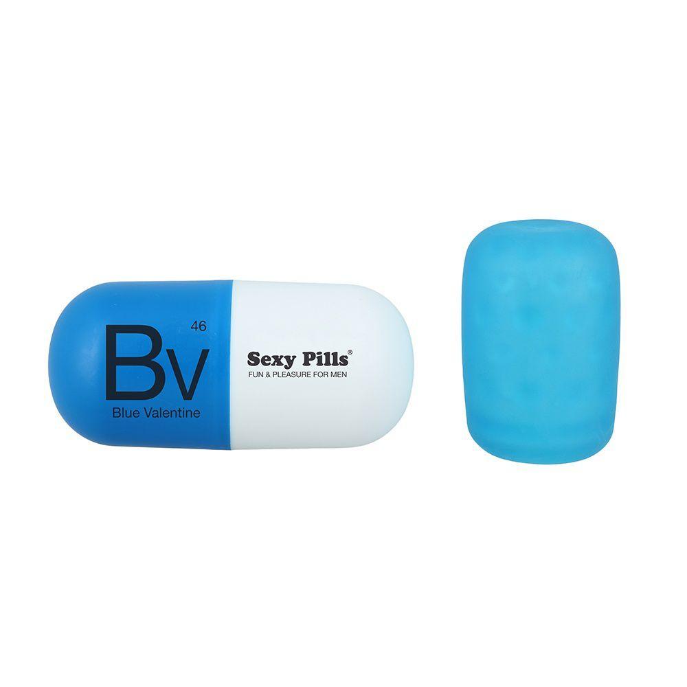 Image of   Sexy Pills - Frækt legetøj til mænd - blå