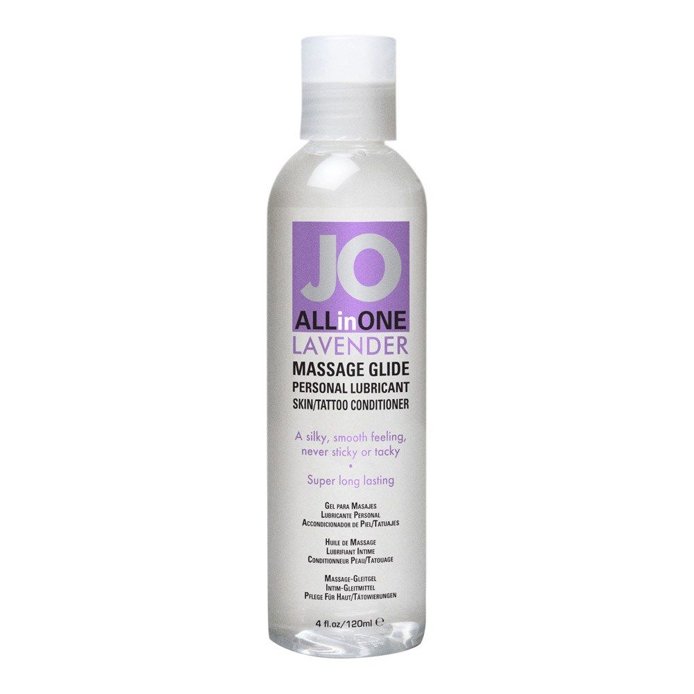Image of   SYSTEM JO ALL-IN-ONE MASSAGEGEL - Lavendel