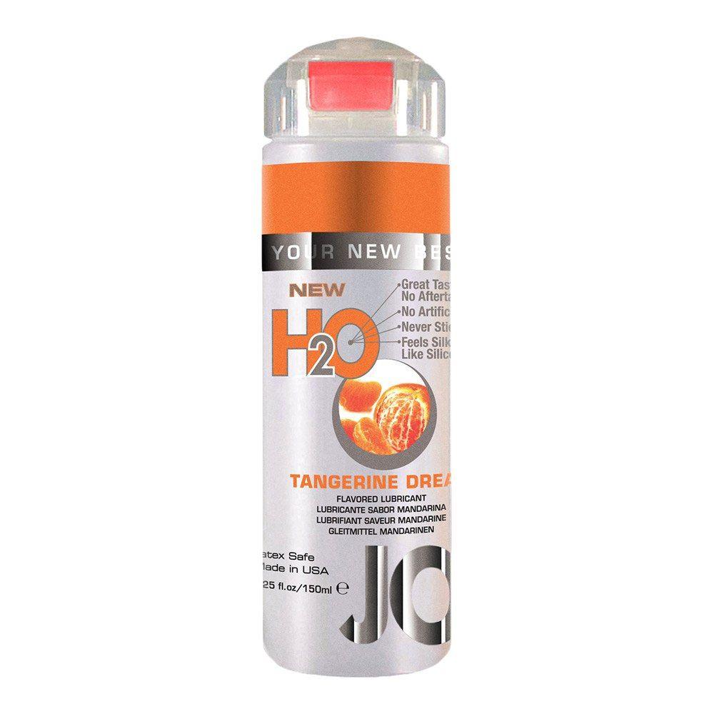 Image of   System JO H2O Flavored Vandbaseret Glidecreme Med Smag - mandarin
