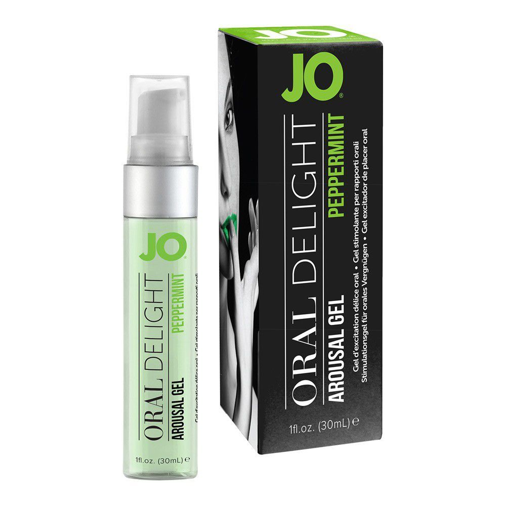 Image of   SYSTEM JO ORAL DELIGHT KYLANDE GEL - Pepparmint