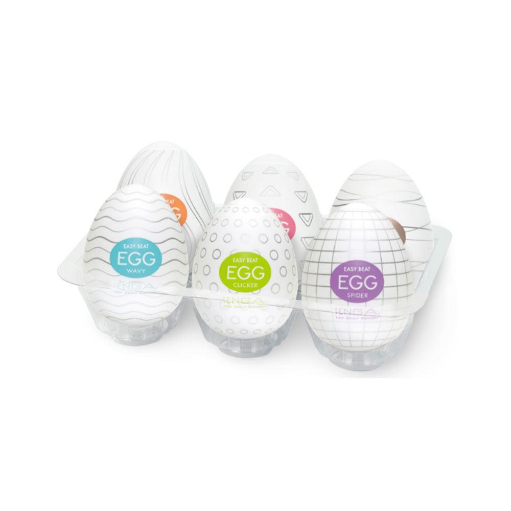 Image of   TENGA Eggs 6-pack Onani Håndjob Til Mænd