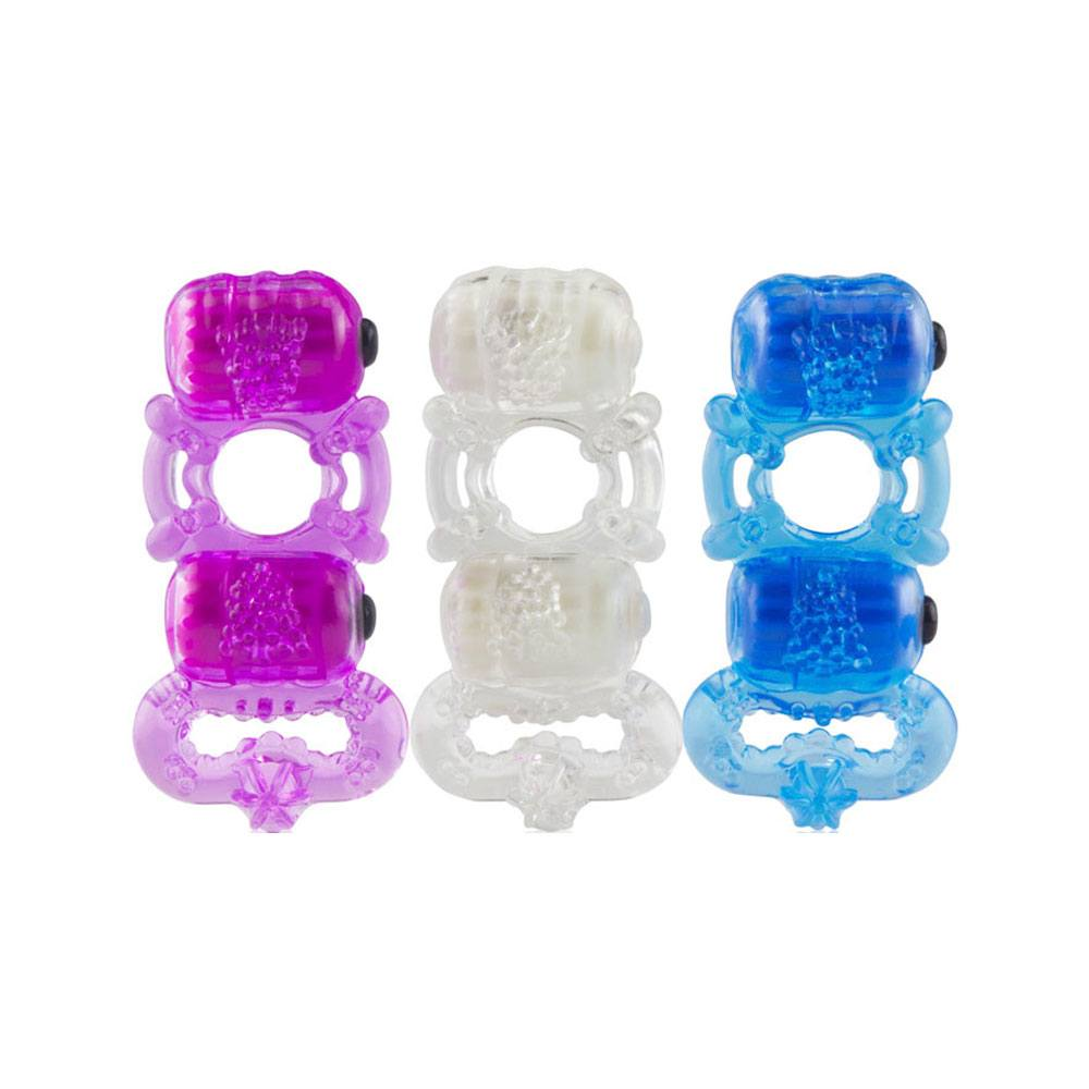 Image of   Screaming O TriO Dobbelt Vibrator Ring