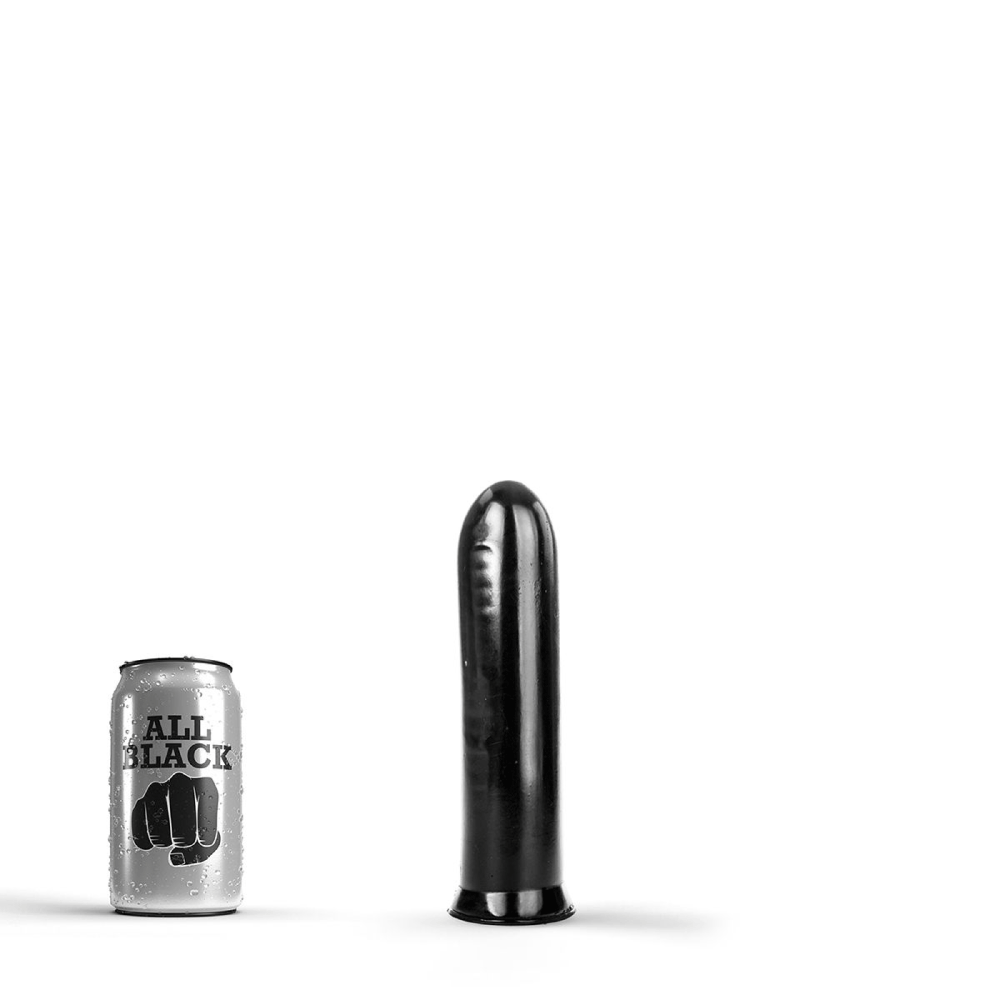 Image of   All Black 08 - Bred Anal-Dildo