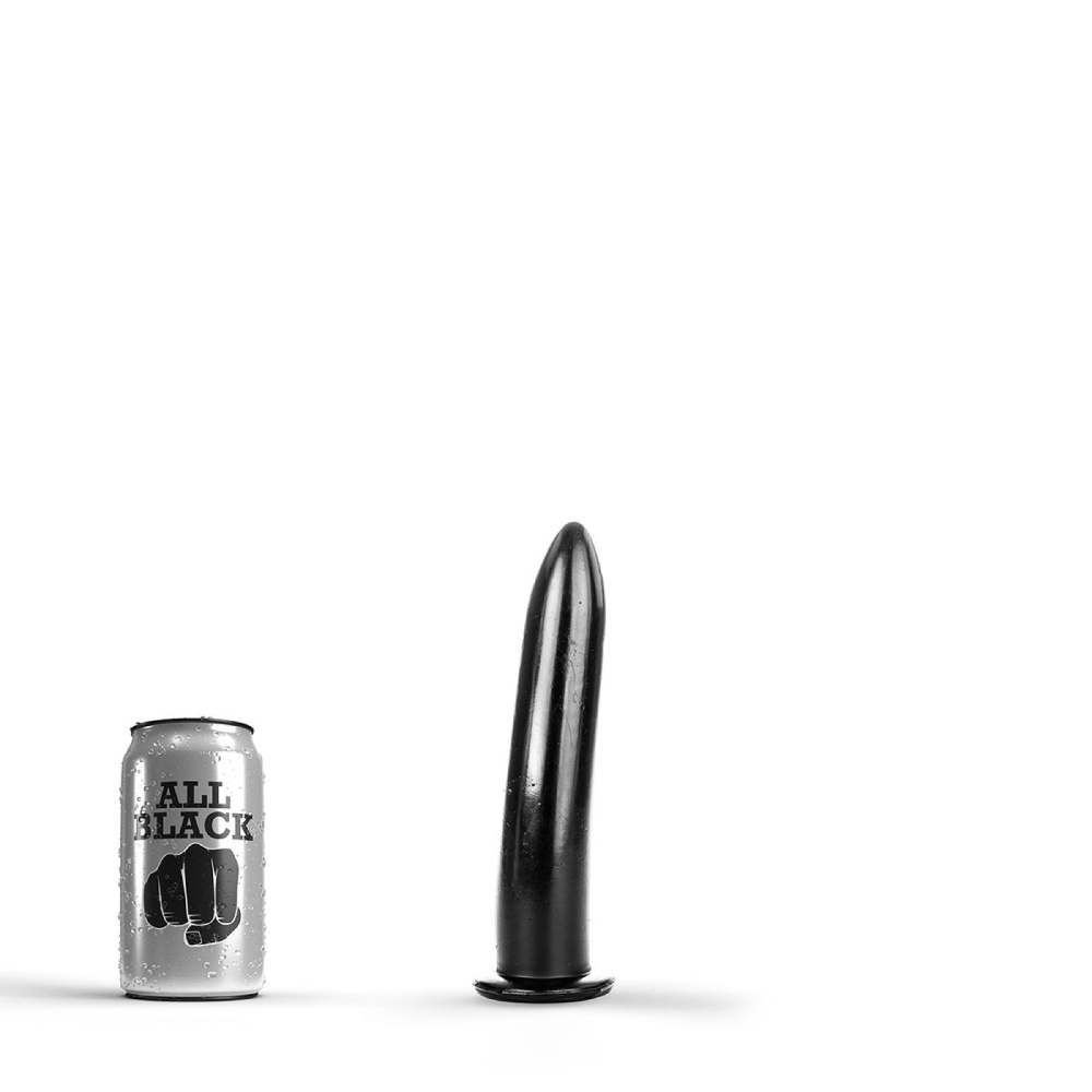 Image of   All Black 07 - Blød Anal-Dildo